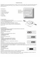 Magnum termosztát telepítási útmutató