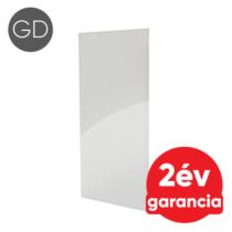 FALCON IPCW Glass Design 600 mennyezeti és fali infrapanel fehér színű üveg felülettel (600 W)