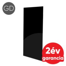 FALCON IPCW Glass Design 600 mennyezeti és fali infrapanel fekete színű üveg felülettel (600 W)