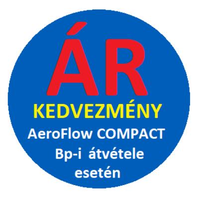 ÁRKEDVEZMÉNY BP-i átvétel esetén AeroFlow COMPACT 1300 W elektromos radiátorhoz