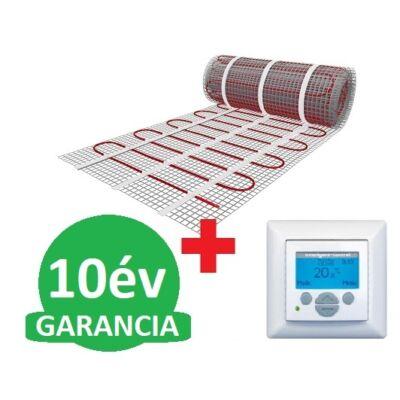 U-HEAT fűtőszőnyeg 6 m2 =  900 W + U-HEAT  Intelligent Control Digitális óratermosztát padlóhőmérséklet szenzorral