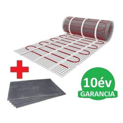 10 m2 U-HEAT fűtőszőnyeg +  10,2 m2 U-HEAT polisztirol szigetelő lap szett