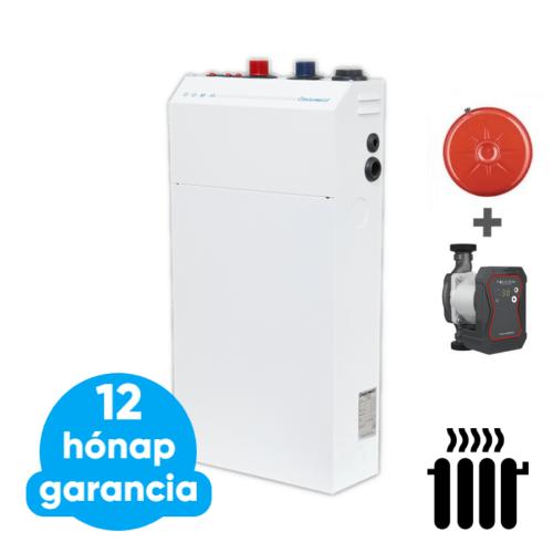 """Centrometal El-Cm Basic """"Szett"""" 9 kW elektromos kazán központi fűtéshez tágulási tartállyal és keringető szivattyúval (230 V / 400 V hálózatra)"""