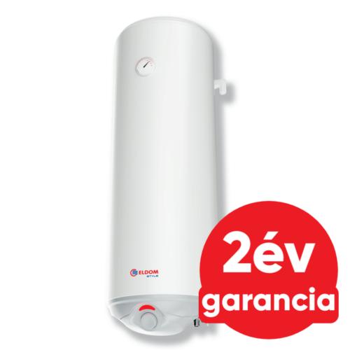 ELDOM Style D 80 literes zománcozott elektromos vízmelegítő száraz fűtőbetéttel (2 kW)