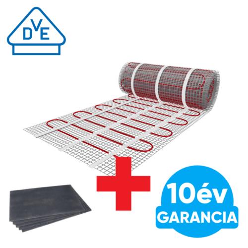1,5 m2 U-HEAT fűtőszőnyeg + 1,8 m2 U-HEAT polisztirol szigetelő lap szett