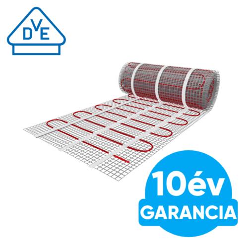 U-HEAT elektromos fűtőszőnyeg 4,5 m2 = 675 W padlófűtés