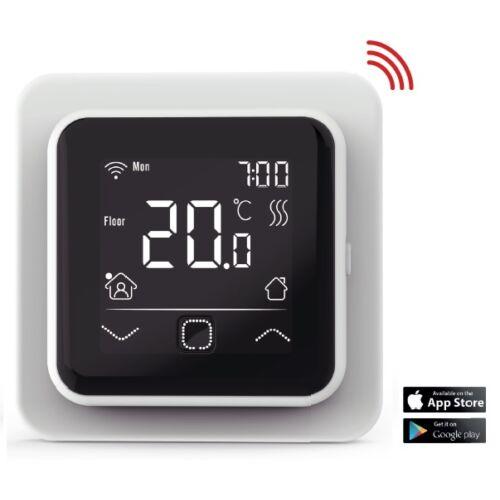 FALCON U-HEAT Wi-Fi Control szobatermosztát padlóhőmérséklet érzékelővel - elektromos padlófűtéshez
