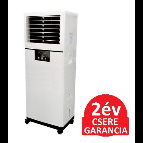 Radialight AER PRO-N nagy teljesítményű léghűtő ventilátor párásító funkcióval, időzíthető vezérléssel (250 Watt)