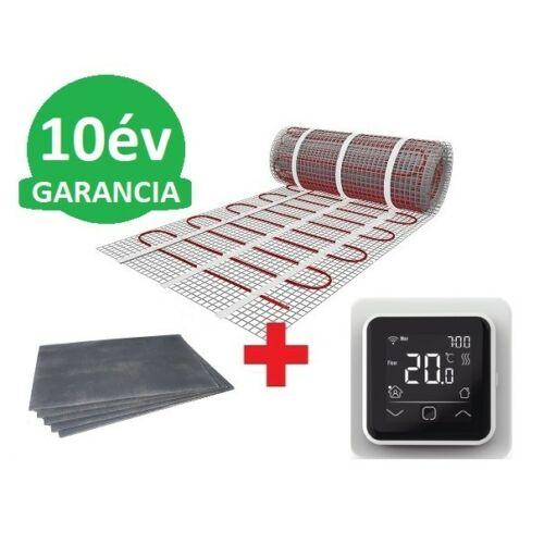 5 m2 U-HEAT fűtőszőnyeg + 5,4 m2 U-HEAT polisztirol szigetelő lap + WI-FI Control szobatermosztát szett