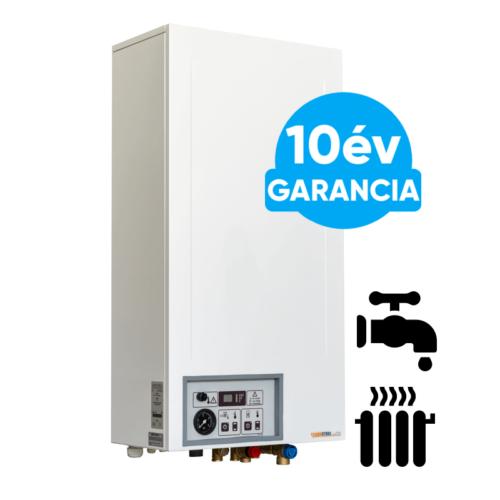Termostroj Termo Kombi 15 kW elektromos kazán központi fűtéshez és átfolyós rendszerű használati meleg víz előállításhoz