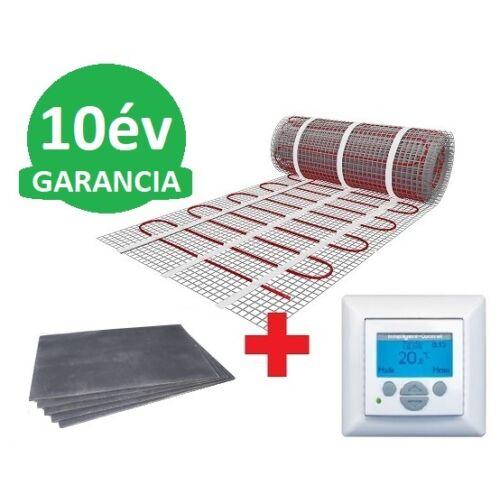 7 m2 U-HEAT fűtőszőnyeg +  7,2 m2 U-HEAT polisztirol szigetelő lap + MAGNUM Intelligent Control digitális fali termosztát szett