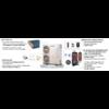 Centrometal Monobloc Heat Pump 5 kW (Monoblokk rendszerű levegő-víz hőszivattyú) bekötési séma
