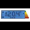 Radialight KLIMA 15 elektromos radiátor programozható vezérléssel (1500 Watt)