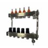 TermoJET 5 körös rozsdamentes osztó-gyűjtő áramlásmérővel