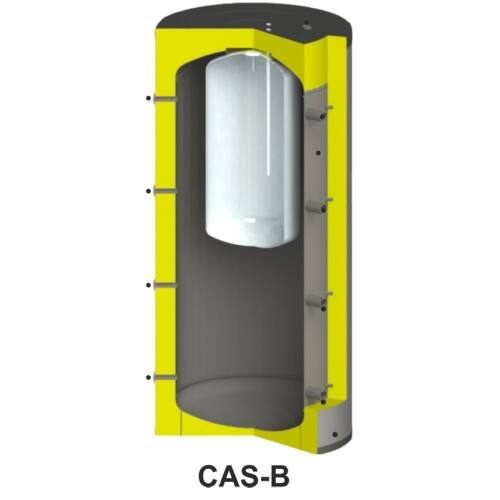 Centrometal CAS-B 801 fűtési puffertároló hőtárolásra és HMV előállításra (740 liter)