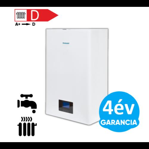Centrometal El-Cm ePlus 12 kW fali elektromos kazán központi fűtéshez és indirekt HMV tartállyal kiegészítve használati meleg víz előállításhoz