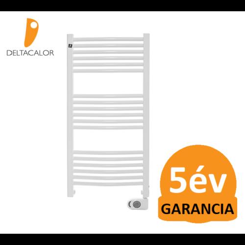 Deltacalor Recto C Mix 500 Watt központi fűtési rendszerre köthető elektromos törölközőszárítós radiátor (fehér)