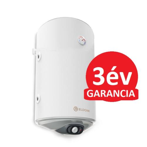 ELDOM Thermo 80 - indirekt használati meleg víz tartály 1 hőcserélővel (jobb oldali / 80 liter / 2 kW / 387 mm Ø)