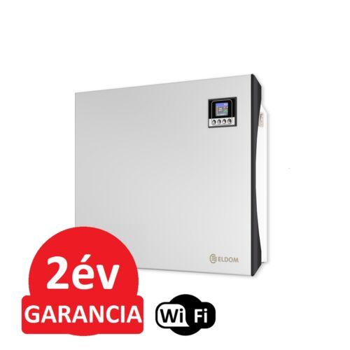 ELDOM Galant 10 WiFi elektromos fűtőpanel programozható vezérléssel (1000 Watt - iOS és Android)