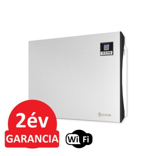 ELDOM Galant 15 WiFi elektromos fűtőpanel programozható vezérléssel (1500 Watt - iOS és Android)