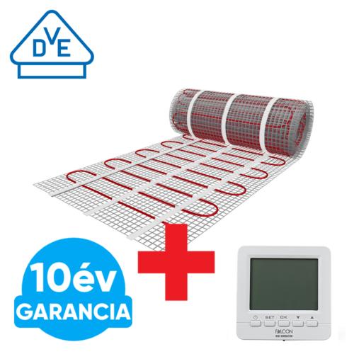 U-HEAT fűtőszőnyeg 1,5 m2 =  225 W + WI-FI Control szobatermosztát szett