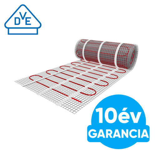 U-HEAT elektromos fűtőszőnyeg 1,5 m2 = 225 W padlófűtés