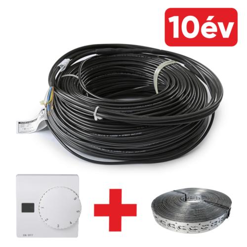 FALCON U-HEAT Cable elektromos fűtőkábel 2600 Watt (18 W/m)