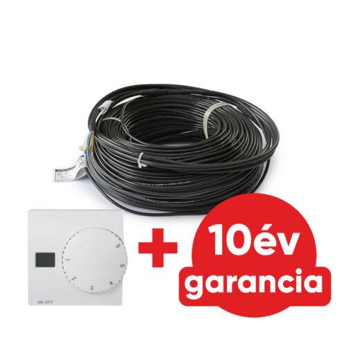 FALCON U-HEAT Cable elektromos fűtőkábel 680 Watt (18 W/m)