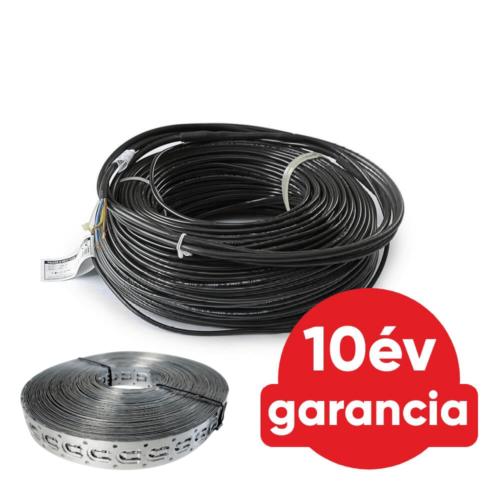 FALCON U-HEAT Cable elektromos fűtőkábel 600 Watt (18 W/m)