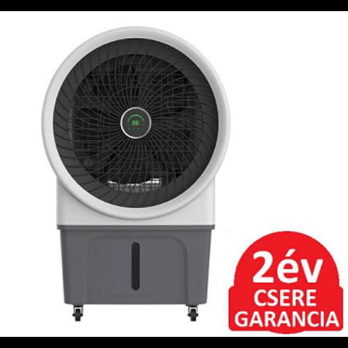 Radialight AER MAX nagy teljesítményű léghűtő ventilátor párásító funkcióval, időzíthető vezérléssel (250 Watt)
